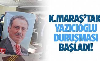 Kahramanmaraş'taki Yazıcıoğlu duruşması başladı!