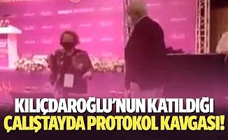 Kılıçdaroğlu'nun katıldığı çalıştayda protokol kavgası!