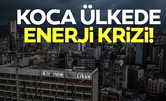Koca ülkede enerji krizi