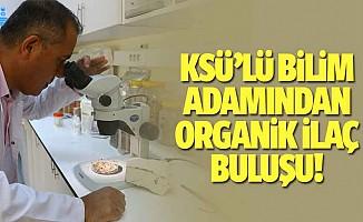 KSÜ'lü bilim adamından organik ilaç buluşu