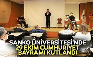SANKO Üniversitesi'nde 29 Ekim Cumhuriyet Bayramı Kutlandı