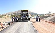 Helete Yoluna sıcak asfalt