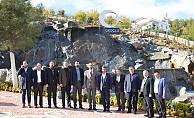 Özdemir'den, Okumuş'a ziyaret