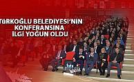 Türkoğlu Belediyesi'nin konferansına yoğun ilgi!