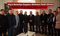 Başkan Güven, gazetecilerle buluştu!