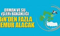 Orman ve Su İşleri Bakanlığı Bin'den fazla memur alımı yapacak