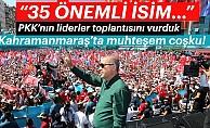 Cumhurbaşkanı Erdoğan, Kahramanmaraş'ta önemli açıklamalarda bulundu