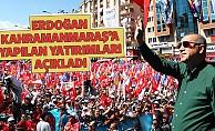 Erdoğan Kahramanmaraş'a Yapılan Yatırımları Açıkladı