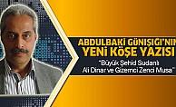 Büyük Şehid Sudanlı Ali Dinar ve Gizemci Zenci Musa
