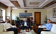 Rektör Can, Pazarcık Kaymakamı Aydın ve Belediye Başkanı Bozdağ ile İlçedeki Eğitim Çalışmalarını Değerlendirdi
