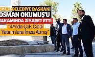 Sezal Belediye Başkanı Osman Okumuş'u Makamında Ziyaret Etti