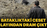 Adana'da göl suyunun çekildiği alanda ceset bulundu