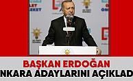 Erdoğan AK Parti'nin Ankara adaylarını açıklıyor