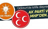 bGöksunda AK Parti ve MHPde istifa!/b