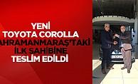 Yeni Toyota Corolla Kahramanmaraş'taki İlk Sahibine Teslim Edildi