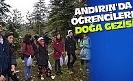 Andırın'da öğrencilere doğa gezisi