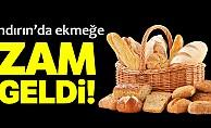 Andırın'da ekmeğe zam yapıldı!