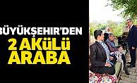 Büyükşehir'den 2 Akülü Araba