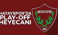 Hatayspor'da Play-Off Heyecanı