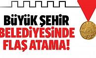 Kahramanmaraş Büyükşehir Belediyesinde flaş atama!