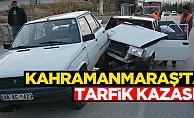 Kahramanmaraş'ta kaza! Yaralılar var