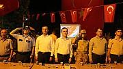 Pazarcık'ta 15 Temmuz Anma Etkinliği Düzenlendi