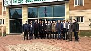 Ejder Akbaş'tan Adıyaman TEİAŞ ve DSİ Ziyareti