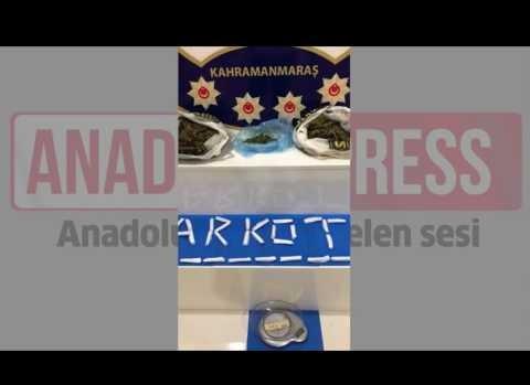 Kahramanmaraş'ta narkotik operasyonu
