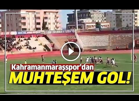 Kahramanmaraşspor Fatih Şen muhteşem frikik golü