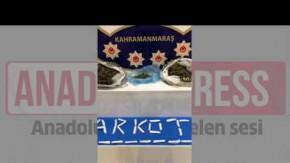 Kahramanmaraş#039;ta narkotik operasyonu